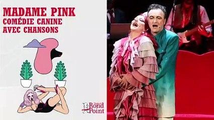 Roxie, caniche rose / Madame Pink